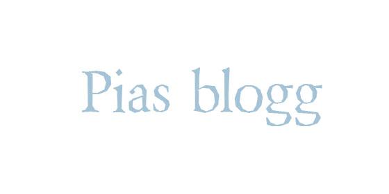 Pias blogg