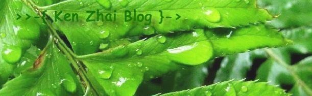 >>-{ Ken Zhai Blog }->
