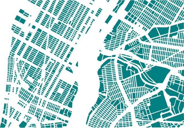 theformorii graphic anagrams of city maps