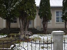 Şcoala Comăneşti...iarna