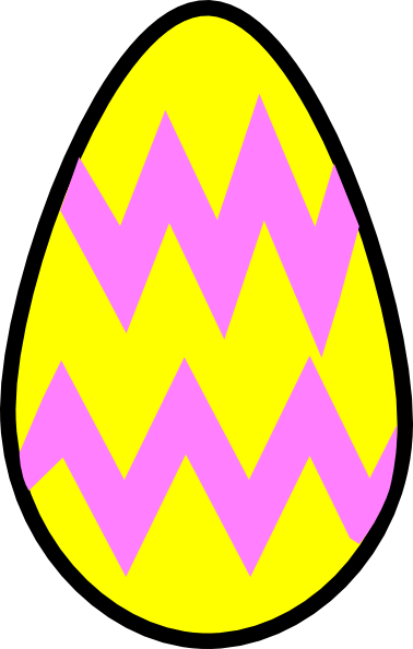 colorful easter eggs clipart