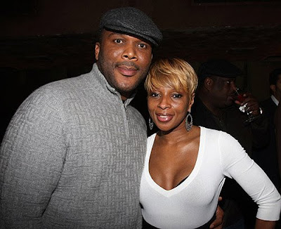 mary j blige hair color. Tyler Perry and Mary J Blige