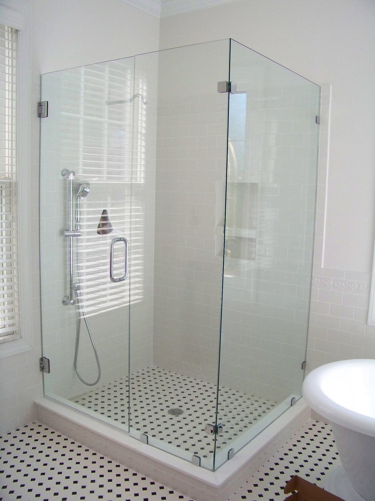 the comforts of home master bath shower