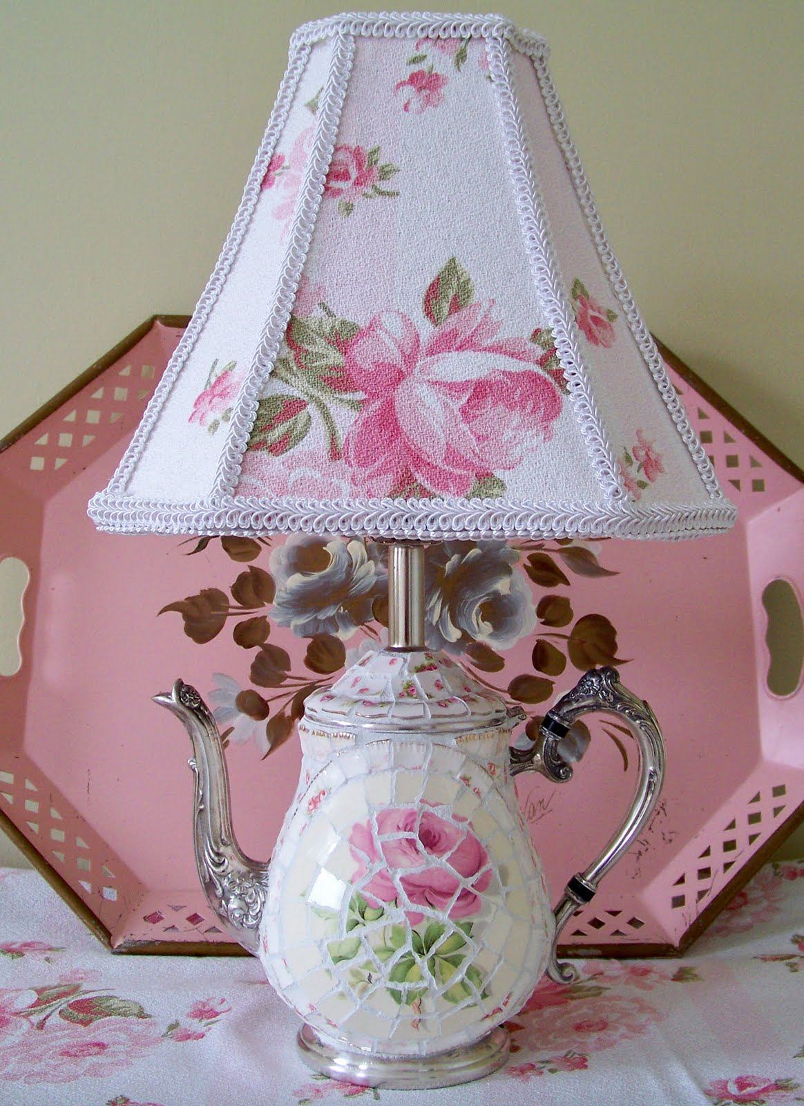 1000  images about shabby chic lamps! on pinterest
