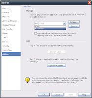 Windows Live Messenger RSS-Feed Add-in