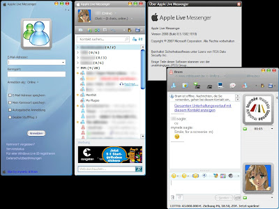 Apple Live Messenger Skin