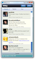 Witty - Twitter Client for Windows Vista and XP