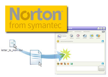 Yahoo Messenger Now Uses Norton Antivirus