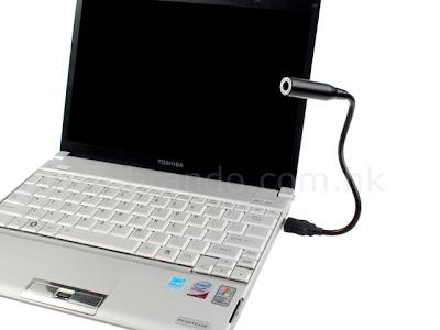 USB Flexible Mini WebCam for IM