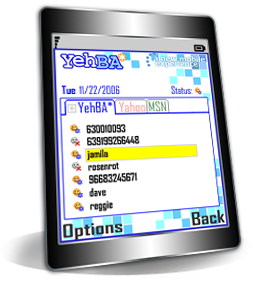 YehBA Mobile IM - Mobile Instant Messenger for Yahoo, MSN and Google Talk