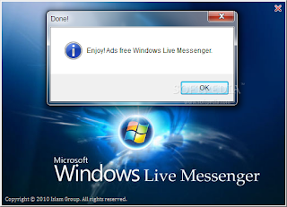 MSN AddsBlocker - Block Ads in Windows Live Messenger