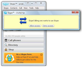 Skype Talking