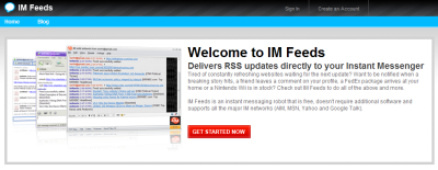 IM Feeds - Get RSS Updates Directly to Your Instant Messenger