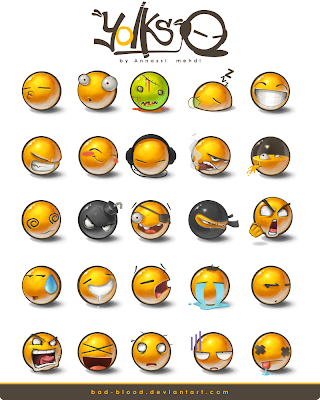 Yolks Emoticon Pack