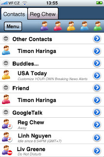 Agile Messenger Now Available for iPhone and iPod Touch