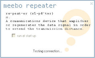 Meebo Repeater Screenshot - Access Meebo from Restricted Computers