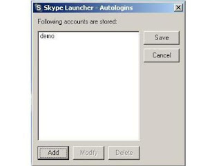 Skype Launcher Screenshot