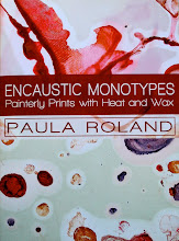 Encaustic Monotypes DVD by Paula Roland
