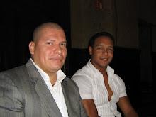 Con el Venezolano Marco Rincon buen amigo