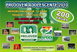 PROJOVEM ADOLESCENTES 2010