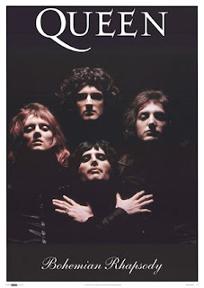 a poetical analysis of queen s bohemian rhapsody The recording of bohemian rhapsody took three weeks and overplayed 180 vocal dubs with numerous instruments and combined different music genres.