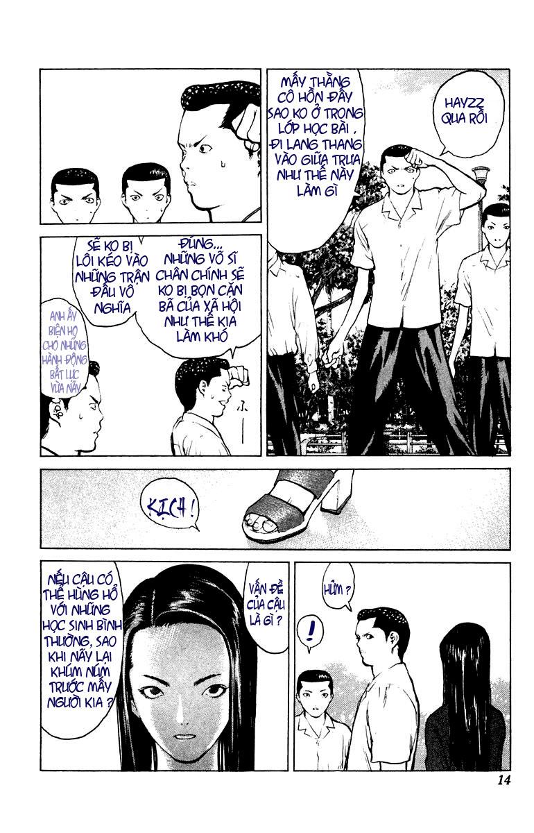 Angel Densetsu chap 54 - Trang 8
