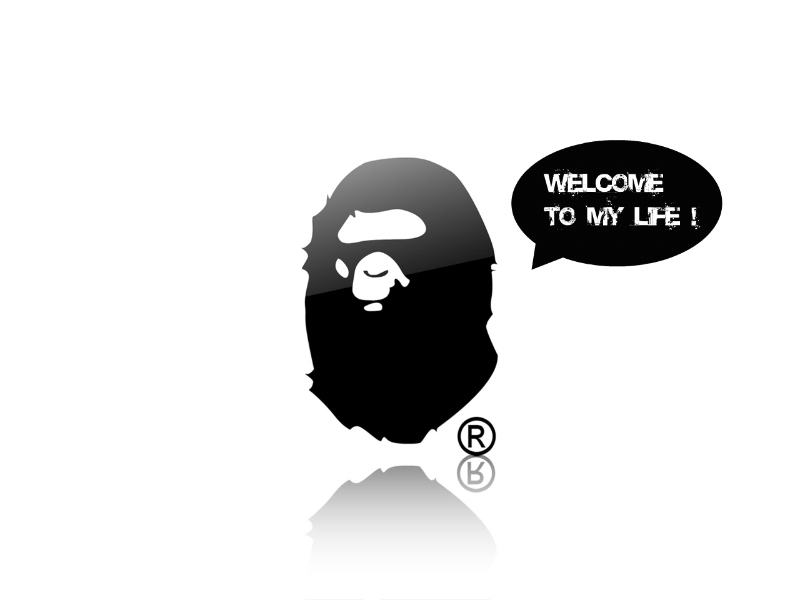 bape wallpapers. SILVER\\