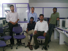 My colleagues logesh,hari,kapil,raj kumar and me