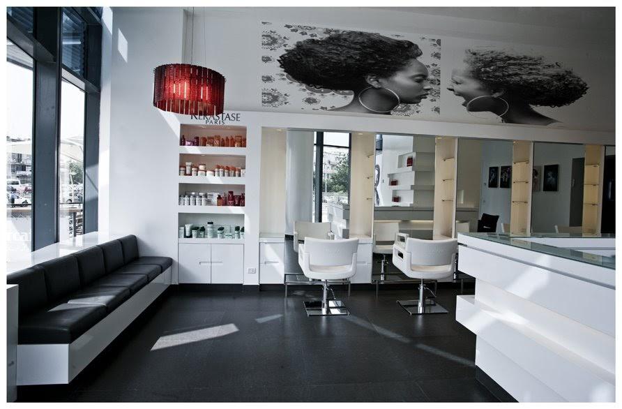 Ilan adar interior architectural design shuki zikri hair for Salon furniture design