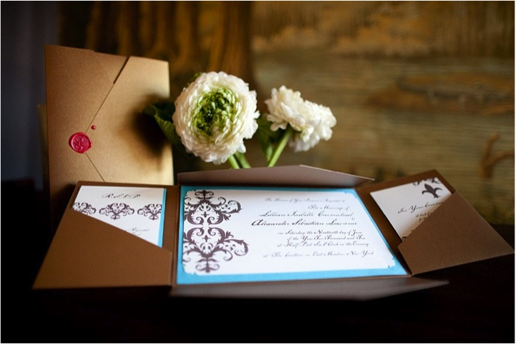 wax-seal-nyc-wedding-invitations-brown-white