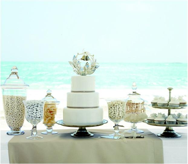 Beach Wedding Dessert Table: Sneak Peek! Martha Stewart Weddings Destination Issue {And