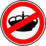 No queremos una monarquía