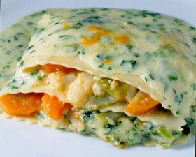 Cocina facil rapida y sana lasagna de verdura a - Cocina rapida y facil ...