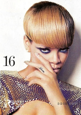 Rihanna In Australia Sunday Magazine Scans