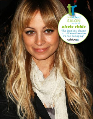 "Nicole Richie says ""I always stayed away from relaxers because they damage"