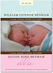 The Benham Twins