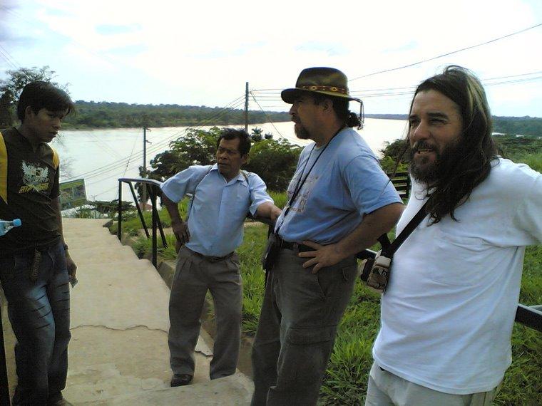 DON FELIPE,FREDY Y YO, MADRE DE DIOS ,PERU