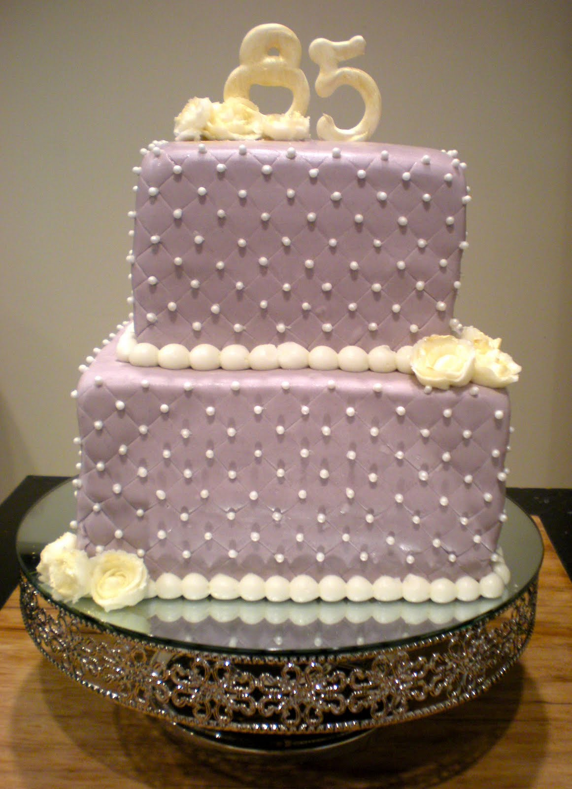 Chandelier Cakes By Natalie Peterson 85th Birthday Cake For My Cute