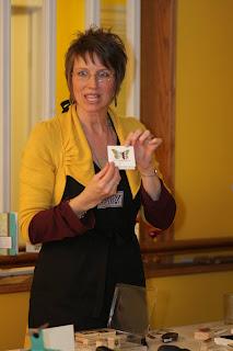 Stampin' Up! Shelli Gardner in workshop of a lifetime