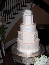 Brittney's pretty pink cake.