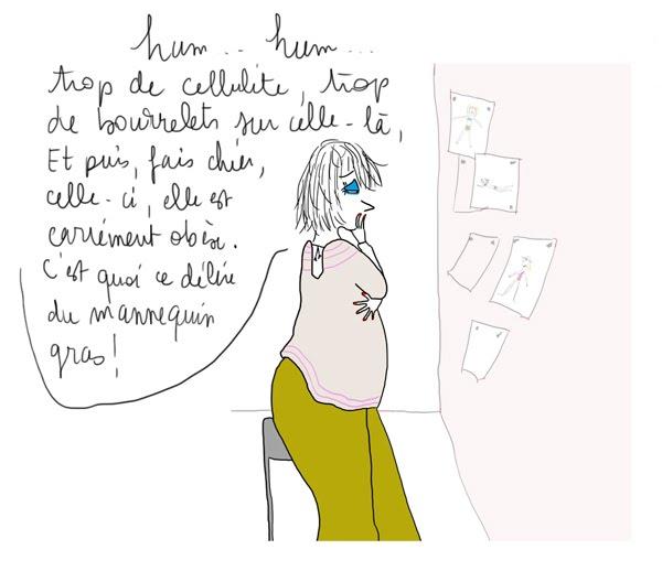 magazine de mode, journaliste mode, mannequin anorexique