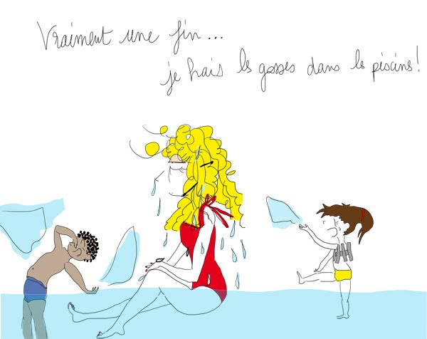 La Vie selon L., piscine