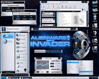 AlienwareInvader large Download tema AlienGUIse para Vista