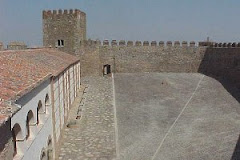 Patio de armas del castillo