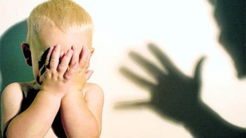 Abuse at home its a sad but very common occurance