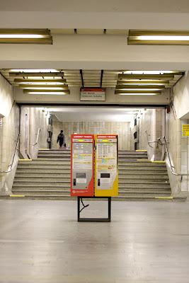 Prague - Smichovske nadrazi metro station