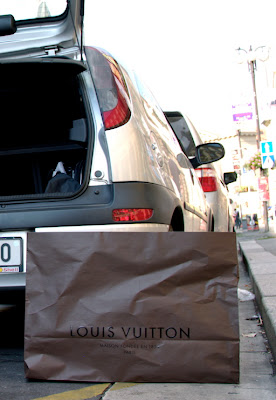 Prague - Louis Vuitton bag