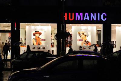 Humanic at Narodni trida street