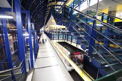 Prague - Rajska zahrada metro station