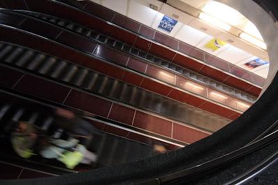 Prague - Narodni trida metro station